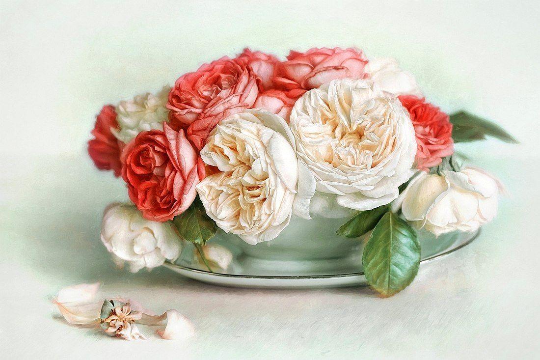 Цветы для декупажа фото