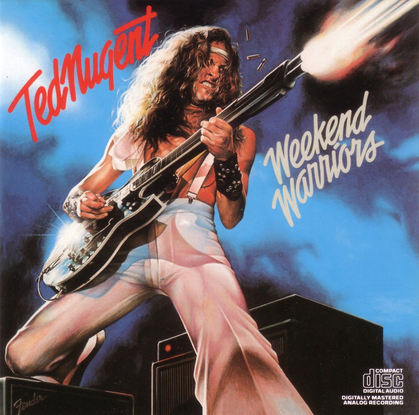 Ted Nugent Weekend Warriors Classic Rock Albums Rock Album Covers Album Covers