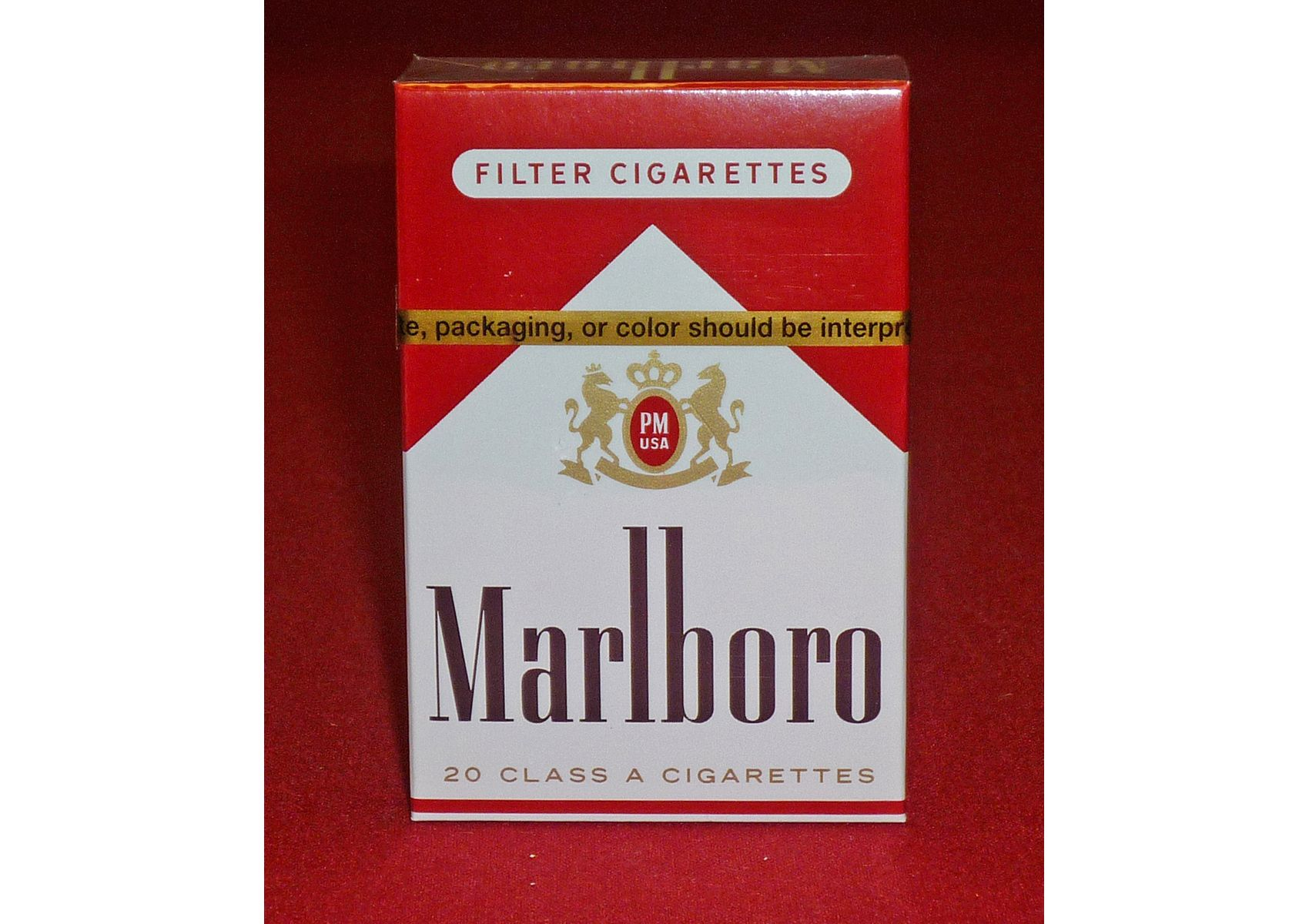 Mild cigarettes Marlboro brands California