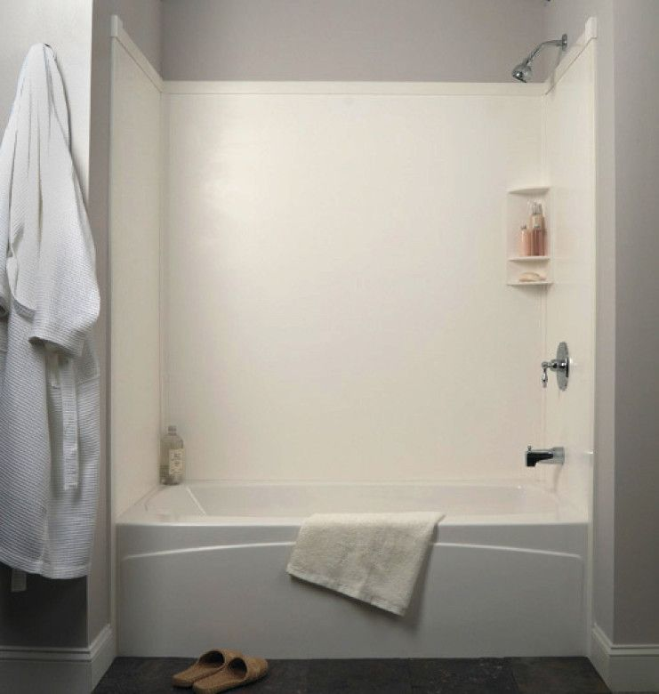 Transolid Decor Shower/Tub Walls for use in new and