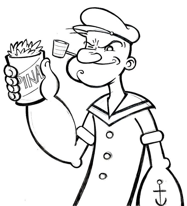 Popeye Coloring Pages Free Cartoon Coloring Pages Coloring Pages Coloring Pages Inspirational