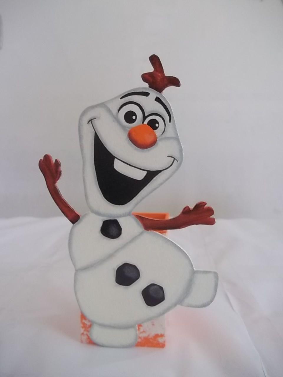 Porta Lápis Olaf Frozen - Muneco de nieve, Manualidades para niños, Manualidades