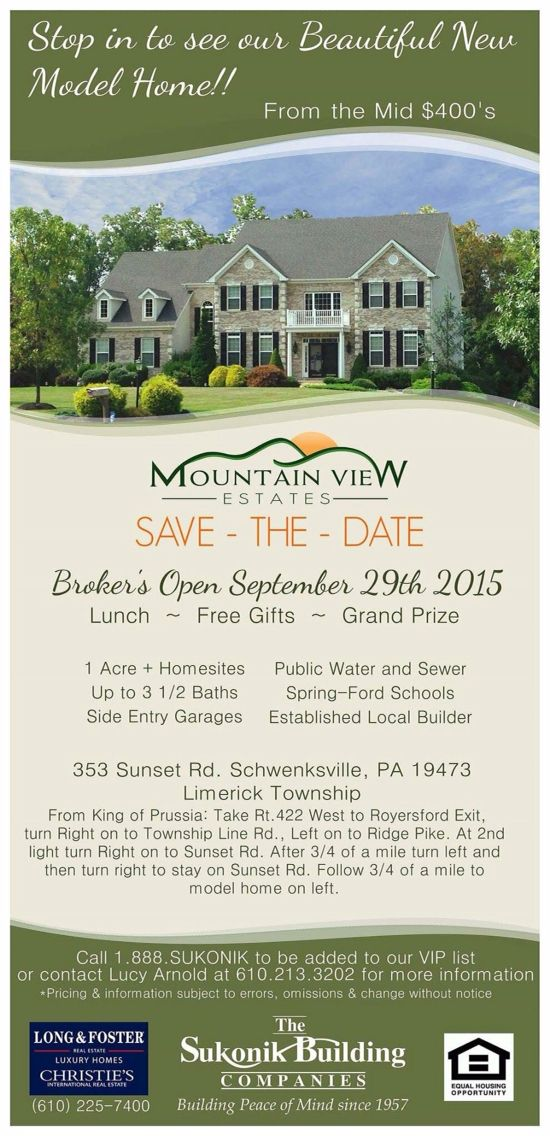 Calling All Realtors Save The Date For Our Broker S Open House