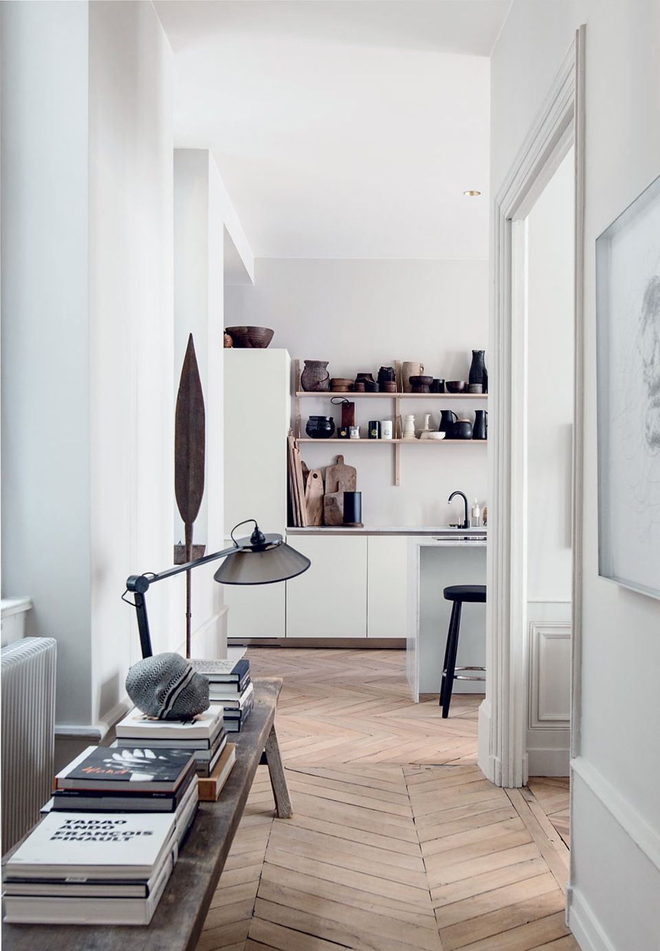 Eklektisk indrettet lejlighed i Lyon | Interiors, Kitchens and ...