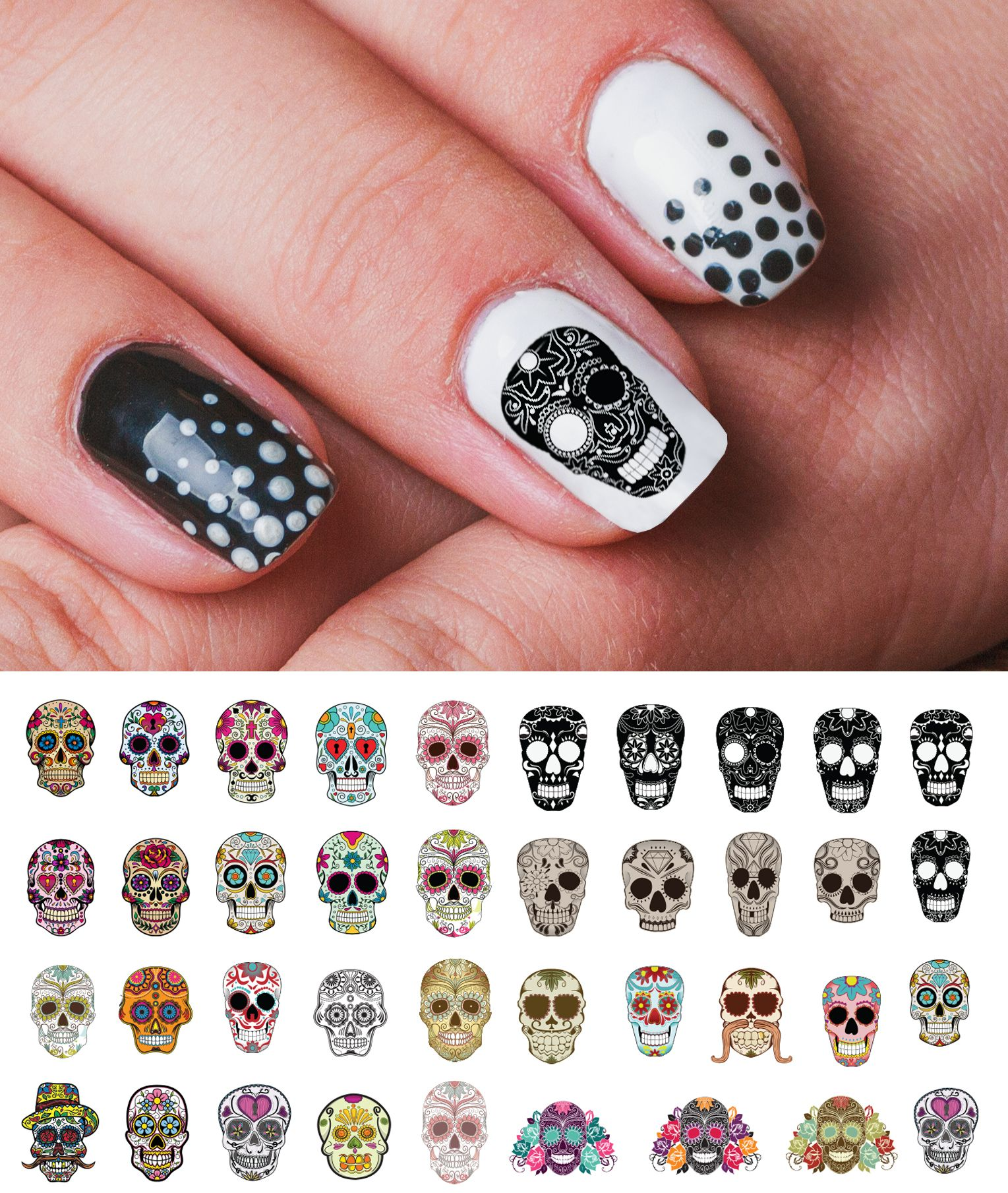 www.moonsugardecals.com offers over 100 different salon quality nail ...