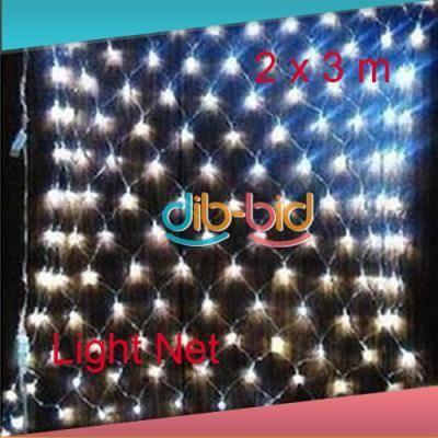 200 LED Web Net Fairy Light Christmas Wedding Party Garden Decor