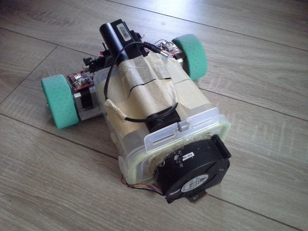 DIY Vacuum Robot | Handyperson, Robot vacuum, Cleaning robot