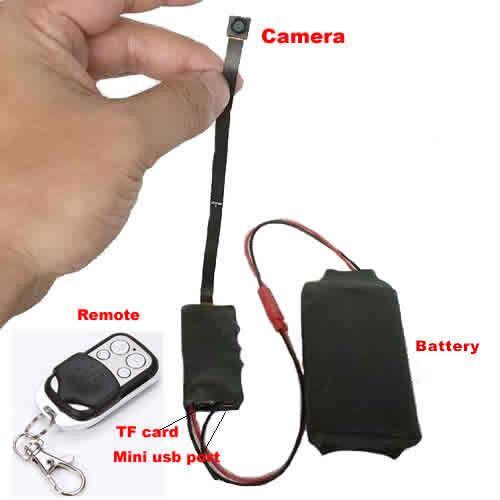 HD 1080P DIY Module SPY Hidden Camera Video MINI DV DVR Motion w// Remote Control