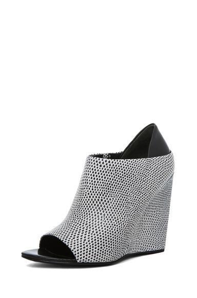 Alexander Wang lizard print #wedge #sandals #shoes