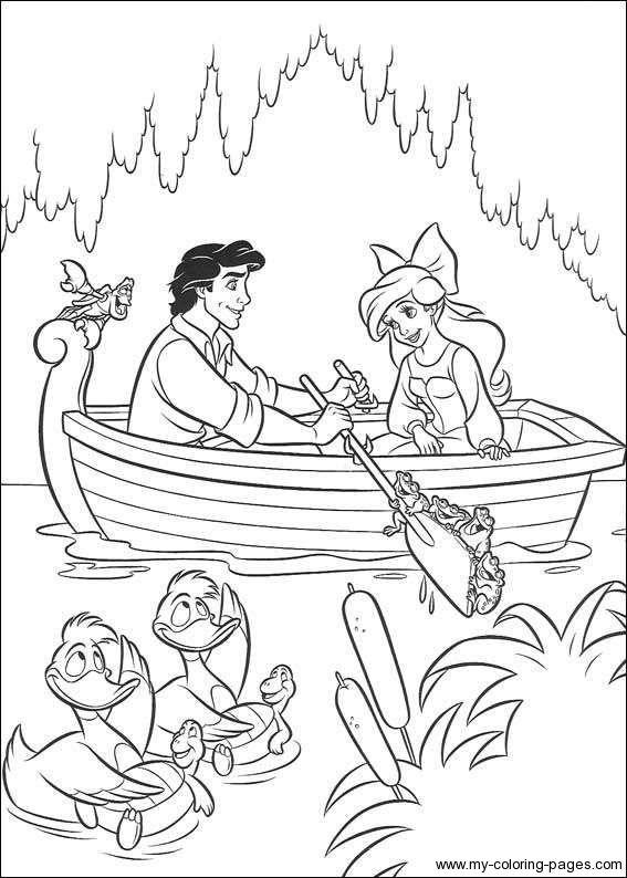 Little-Mermaid-Coloring-Pages-084 | Shoe ideas | Pinterest | Mermaid ...