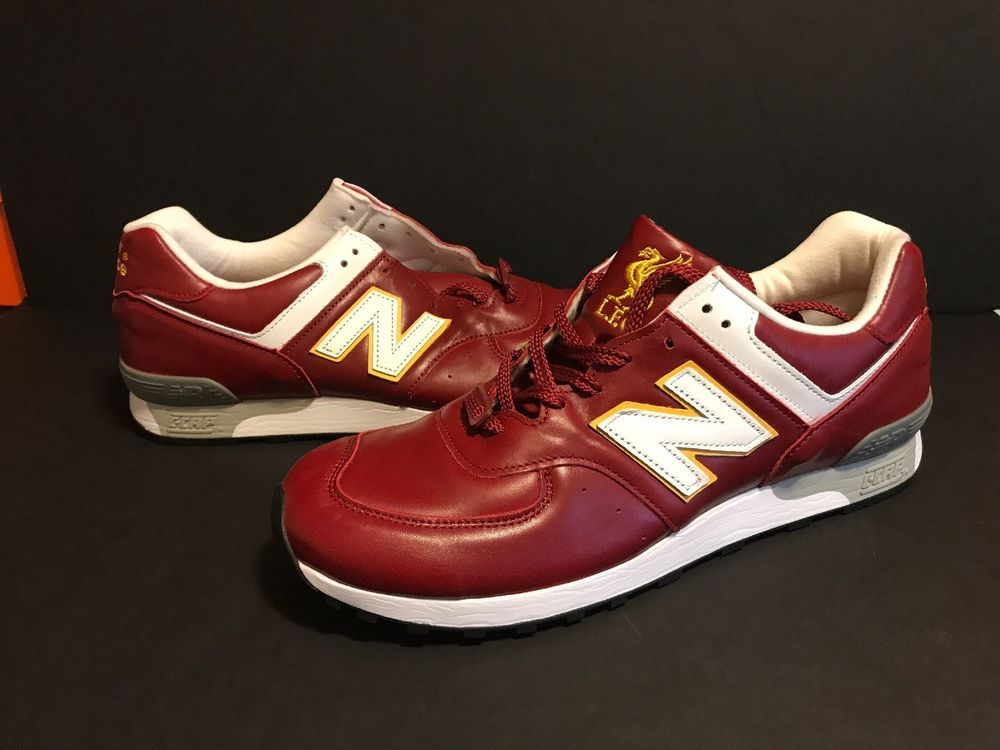 new concept 6e934 53636 New Balance 576 Limited Edition Liverpool FC - Red/Yellow ...