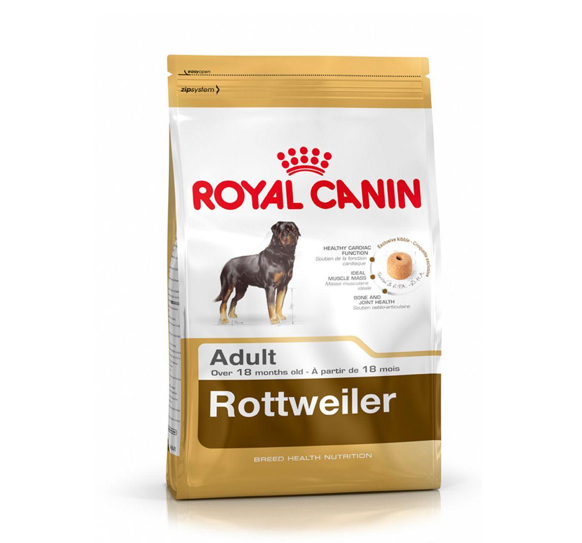 Royal Canin Rottweiler Adult 3 Kg Royal Canin Dog Food Dog