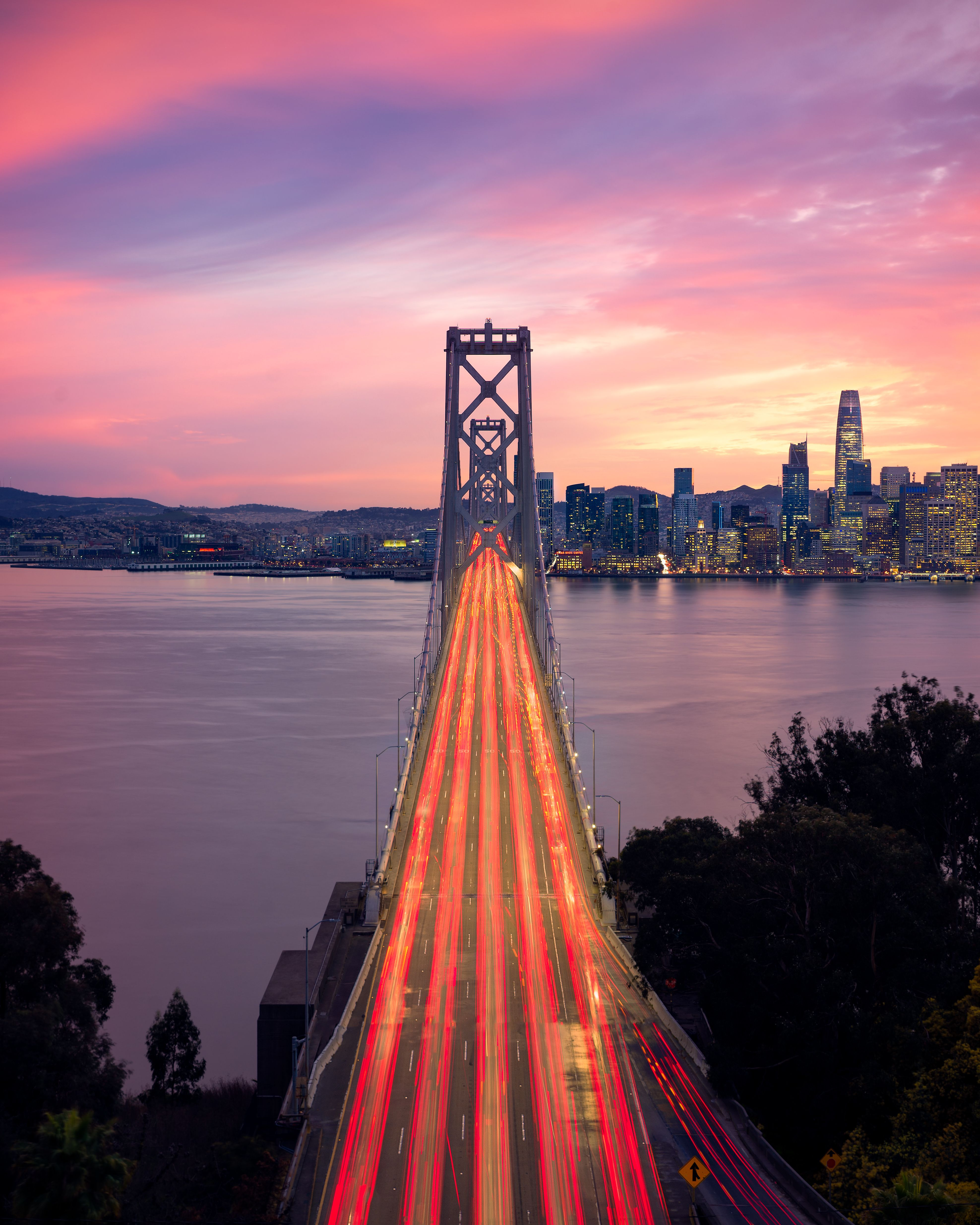 Approaching The City By The Bay (San Francisco) During A