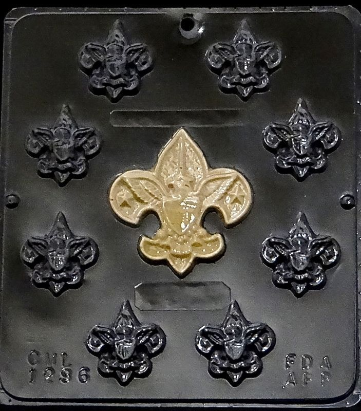 Boy Scout Assortment Chocolate Candy Mold 1296 NEW