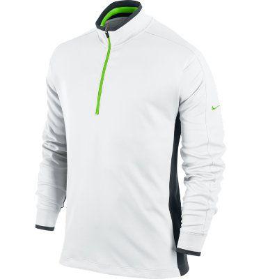 Nike Men s Dri-FIT ½ Zip Pullover Camisa De Manga Comprida 53ecb13a61a77