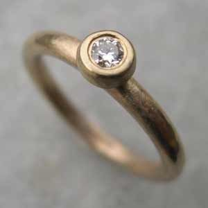Handmade Diamond Engagement Ring 9ct Yellow Gold Http Www Silverandstone Co