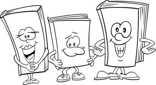 Utiles Escolares para colorear ~ Dibujos para Colorear Infantil ...