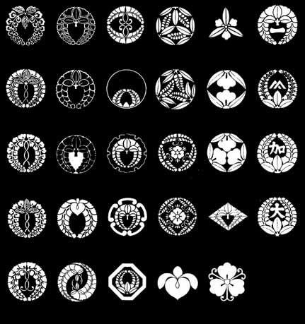 藤紋 On 家紋world 家紋 和 デザイン 家紋 一覧