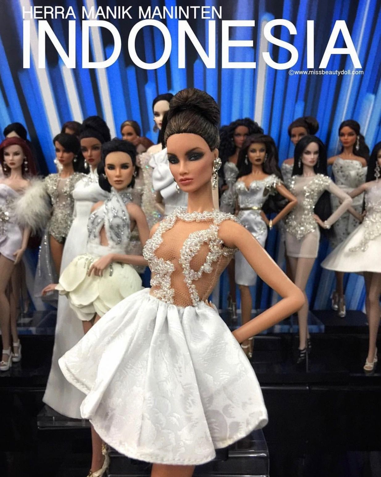 24/MissBeautyDoll 2018 Top 15 Miss Indonesia Flower girl