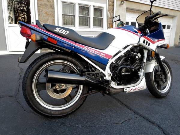 1985 Honda Vf500 Interceptor Honda Interceptor Riding