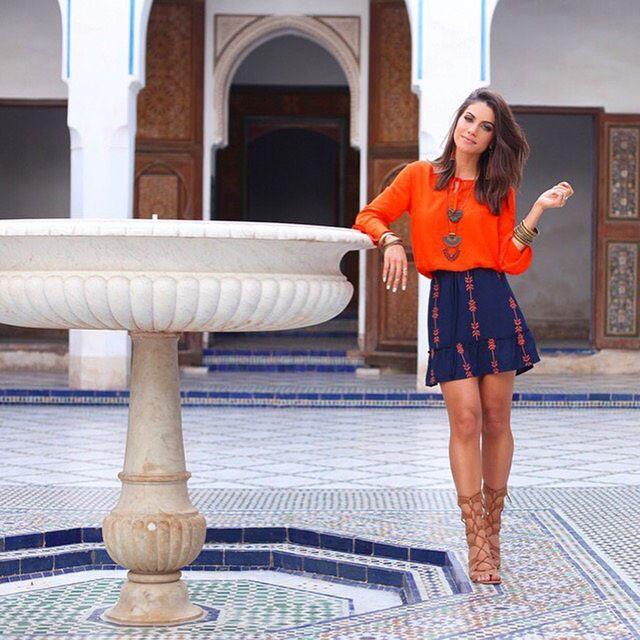 Em Marrocos com Riachuelo