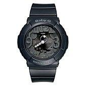 MrsBaby-G Watch, Women's Analog Digital Black Resin Strap 43mm BGA131-1B