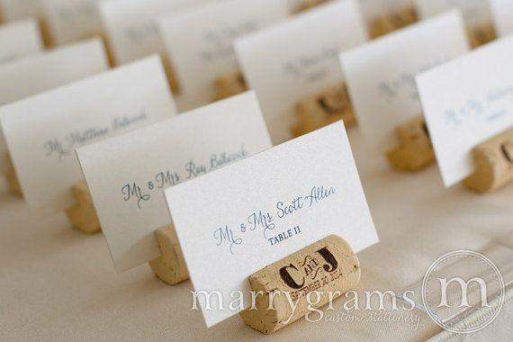 Flache Ausgefallene Hochzeit Tischkarten Von Marrygrams Auf Etsy