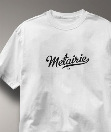 Cool Metairie Louisiana LA Shirt from Greatcitees.com