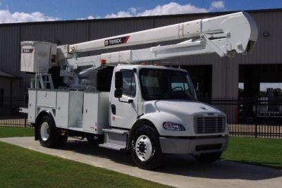 used bucket truck for sale terex hi ranger tc55 2014 freightliner m2 utility fleet sales. Black Bedroom Furniture Sets. Home Design Ideas