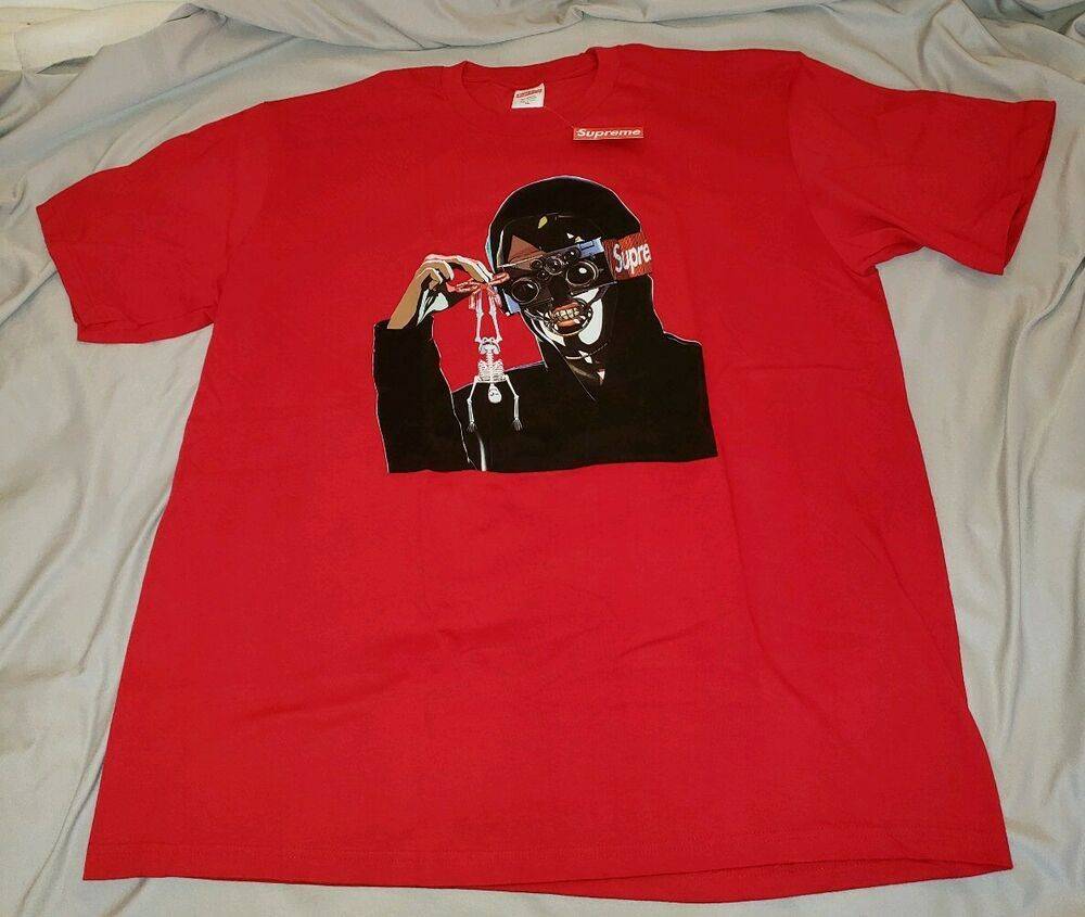 cf19eec2 Supreme Creeper tee Red XL SS19 In Hand #Supreme #GraphicTee ...
