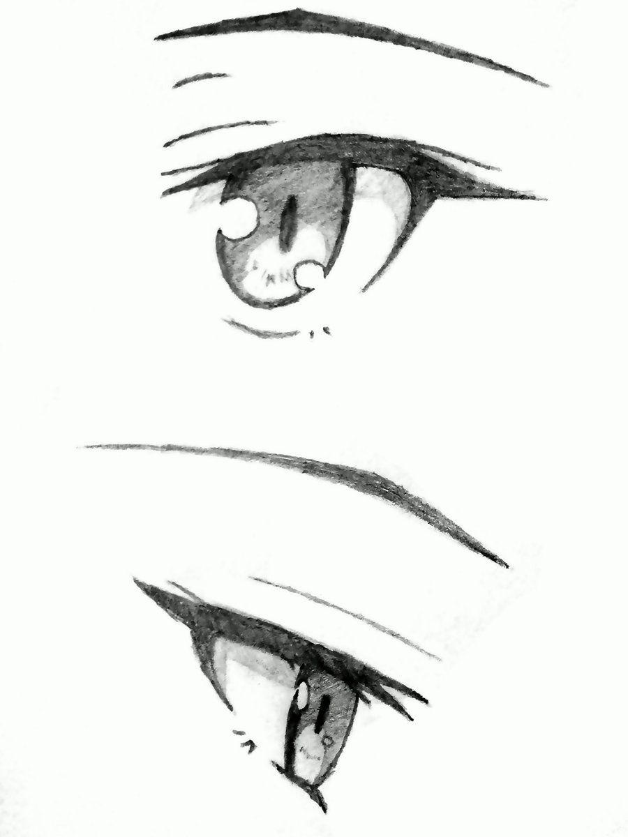 Shiina Mashiro Eyes By Johnny Jon On Deviantart Anime Eye Drawing Anime Drawings Sketches Manga Drawing Tutorials