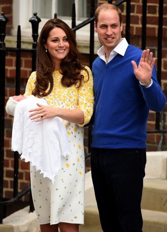 Prince William & Kate Middleton Debut Baby Girl: See the First Pics ...