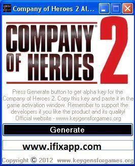 Company hero keygen