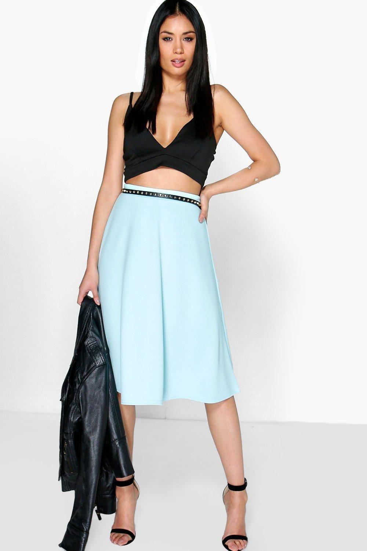 9c2382895 Arianna Plain Full Circle Midi Skirt – DACC