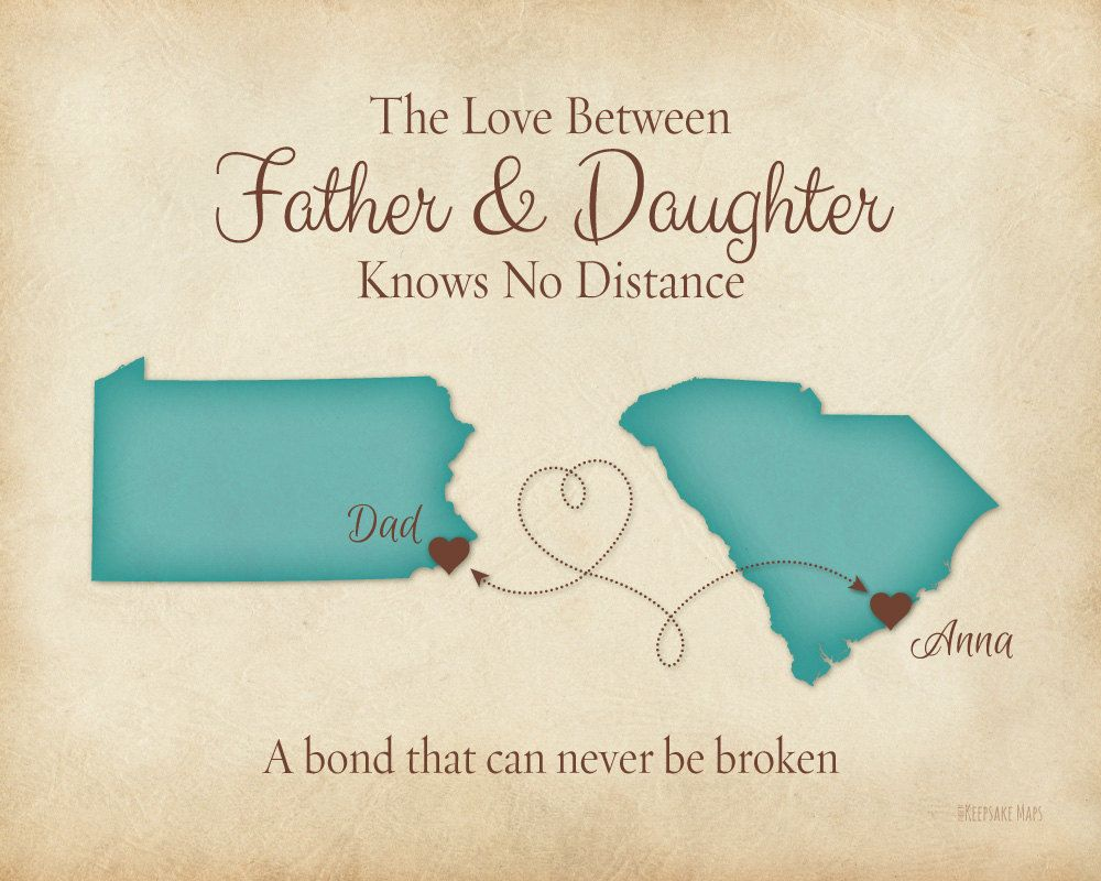Long Distance Gift Print For Dad Christmas Gift For Dad
