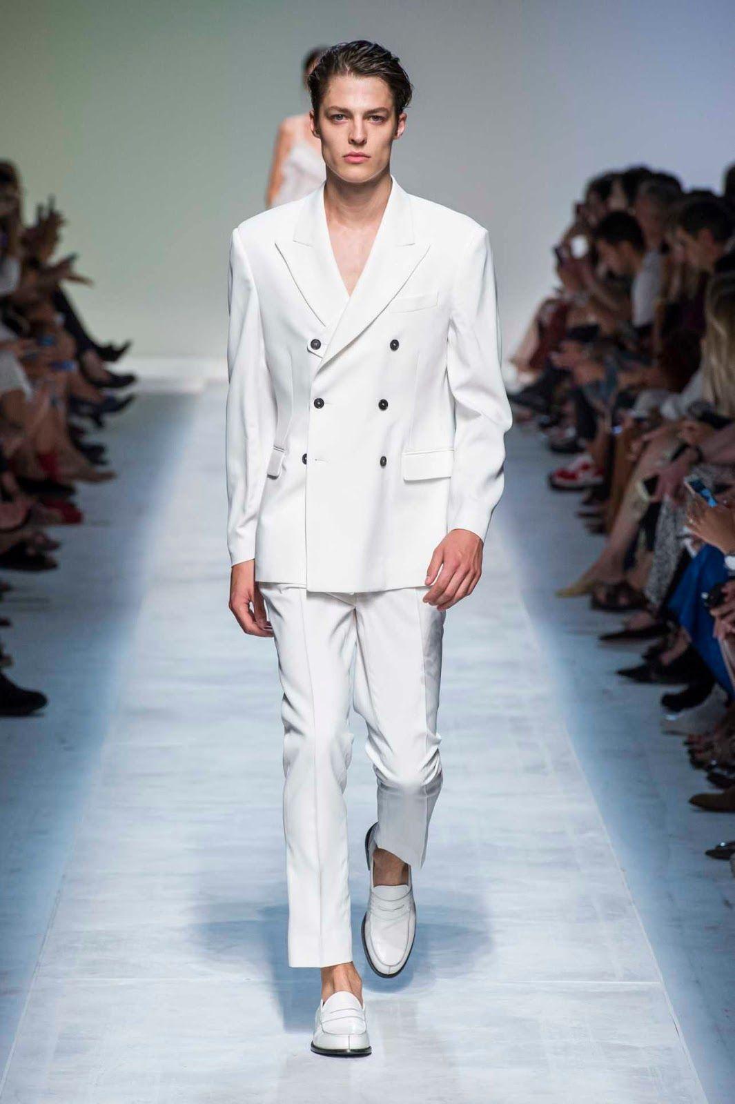 4da95628aca Male Fashion Trends  Ermanno Scervino Spring-Summer 2019 Runway Show