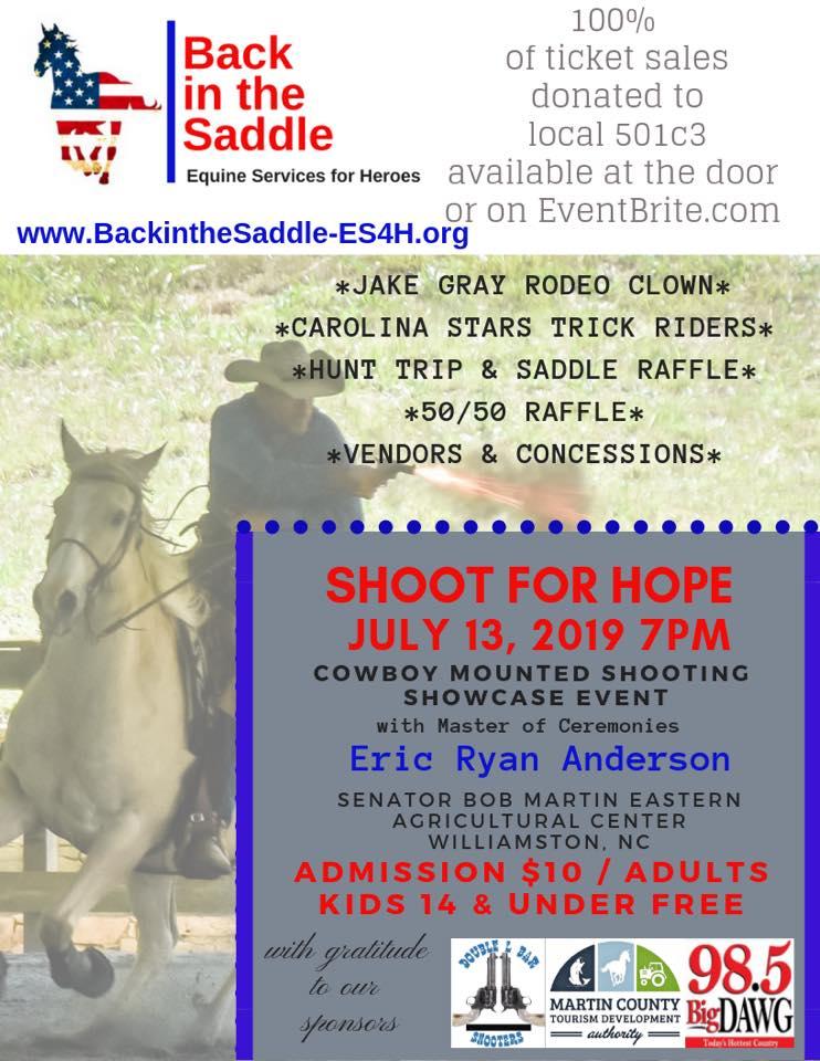 Shoot For Hope 2019 Cowboy Mounted Shooting Showcase Fundraiser