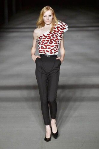 Saint Laurent Paris primavera-verão 2014