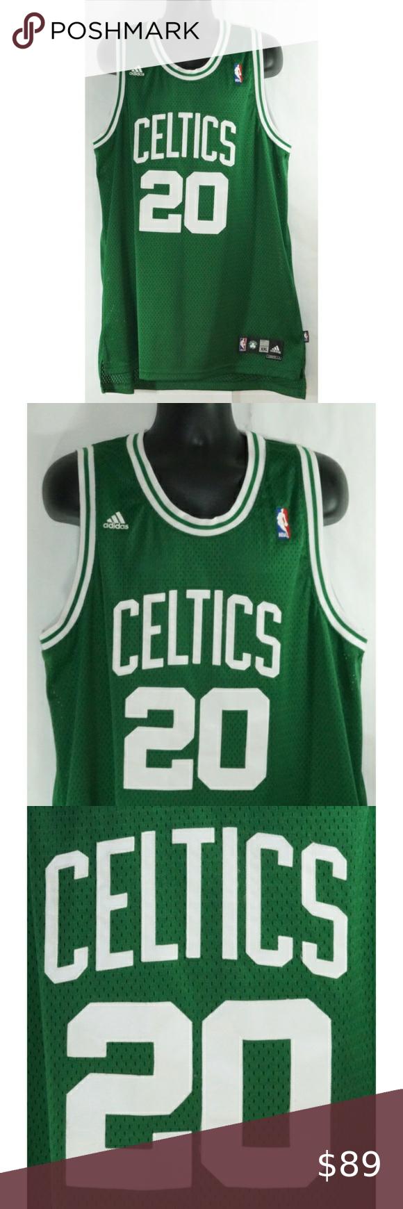 Ray Allen Boston Celtics Adidas Jersey Xxl Boston Celtics Ray Allen Nba Champions