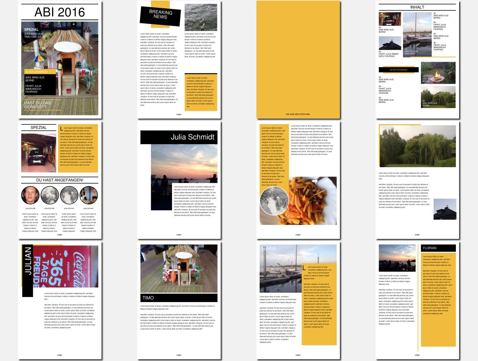 Schülerzeitung kostenlos online erstellen und günstig drucken unter ...