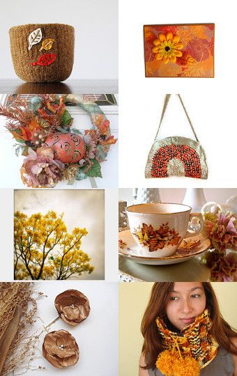 Autumn Harvest by Julie--Pinned with TreasuryPin.com