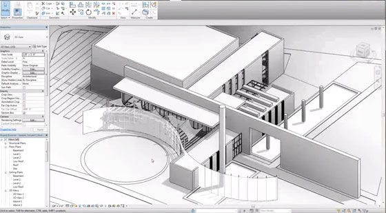 This Revit video tutorial briefly explains Adaptive Fabric Roof