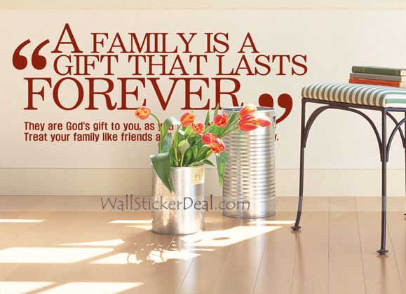 What Is Family Quotes Wall Sticekrs | Wall Quotes Decals ...