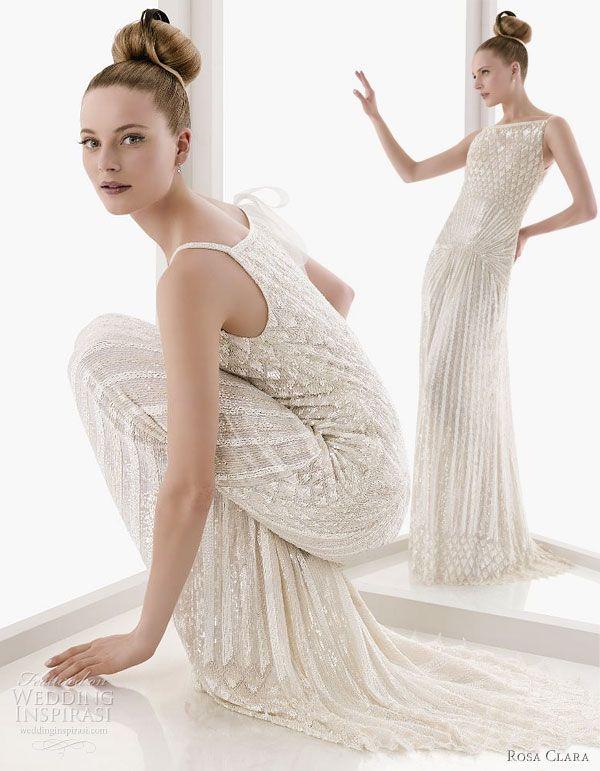 Rosa Clará 2011 Beautiful Wedding Dresses | Art deco, Rosa clara and ...