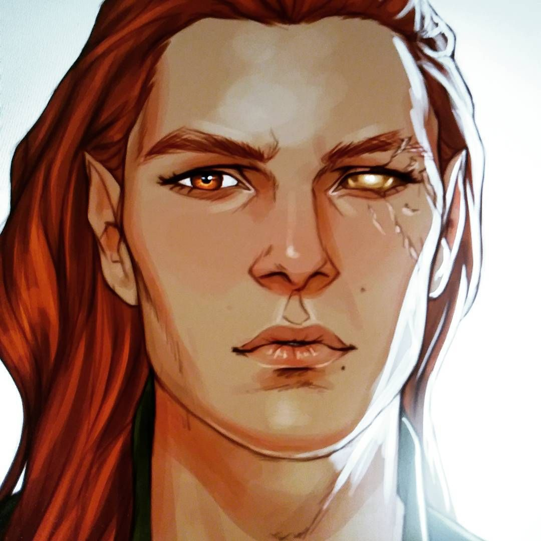 Lucien Thanks To The Acotar Fans For The Support Art Fanart