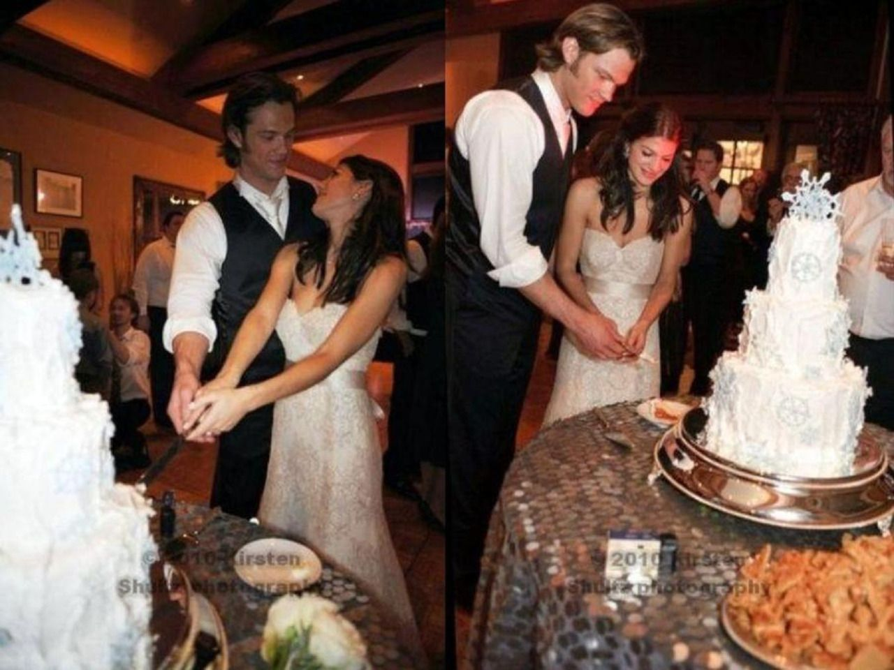Jared Padalecki And Genevieve Cortese Wedding Our Party Consists Of Friends Family That