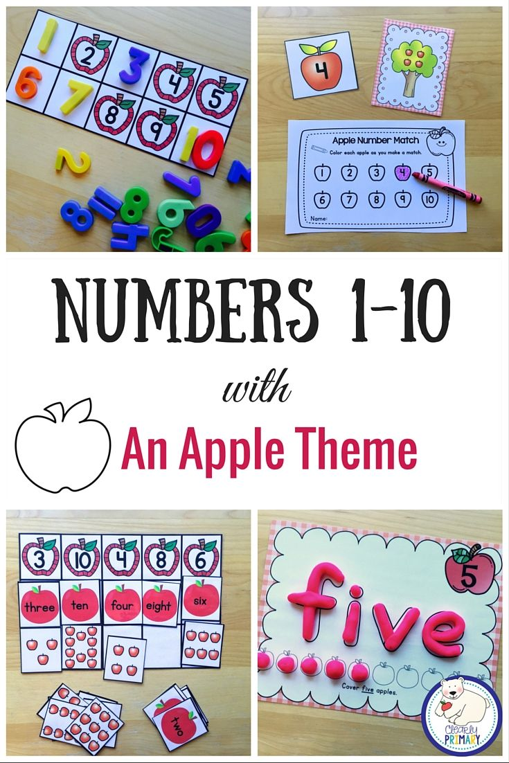 Numbers 1 10 Pinterest Worksheets Maths And Number