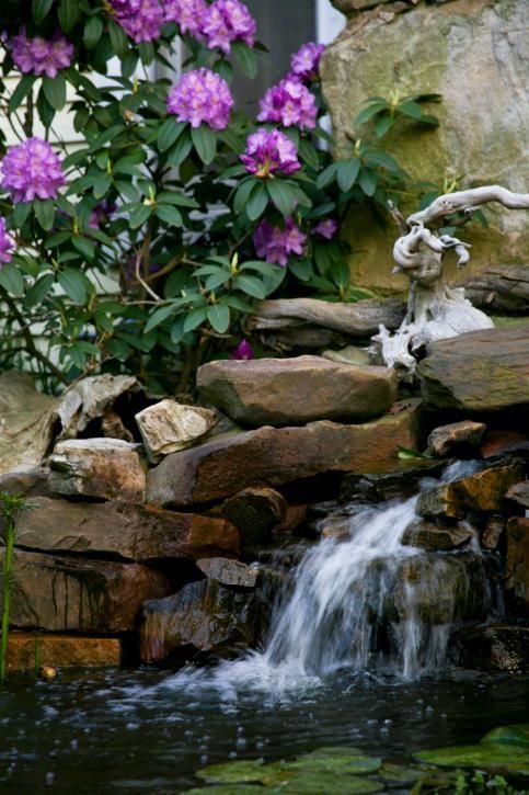 Fotos de cascadas de jardín Fotos de cascadas, Cascadas y Cascada - fuentes de cascada