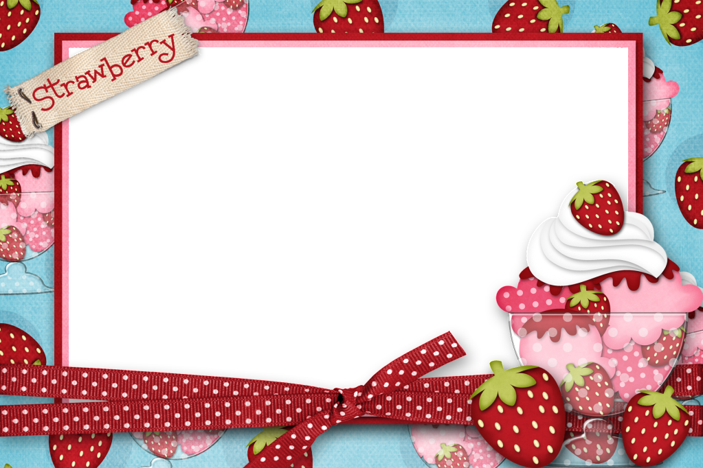 Strawberry Frame Picture By Sweetandsourmama Photobucket ...