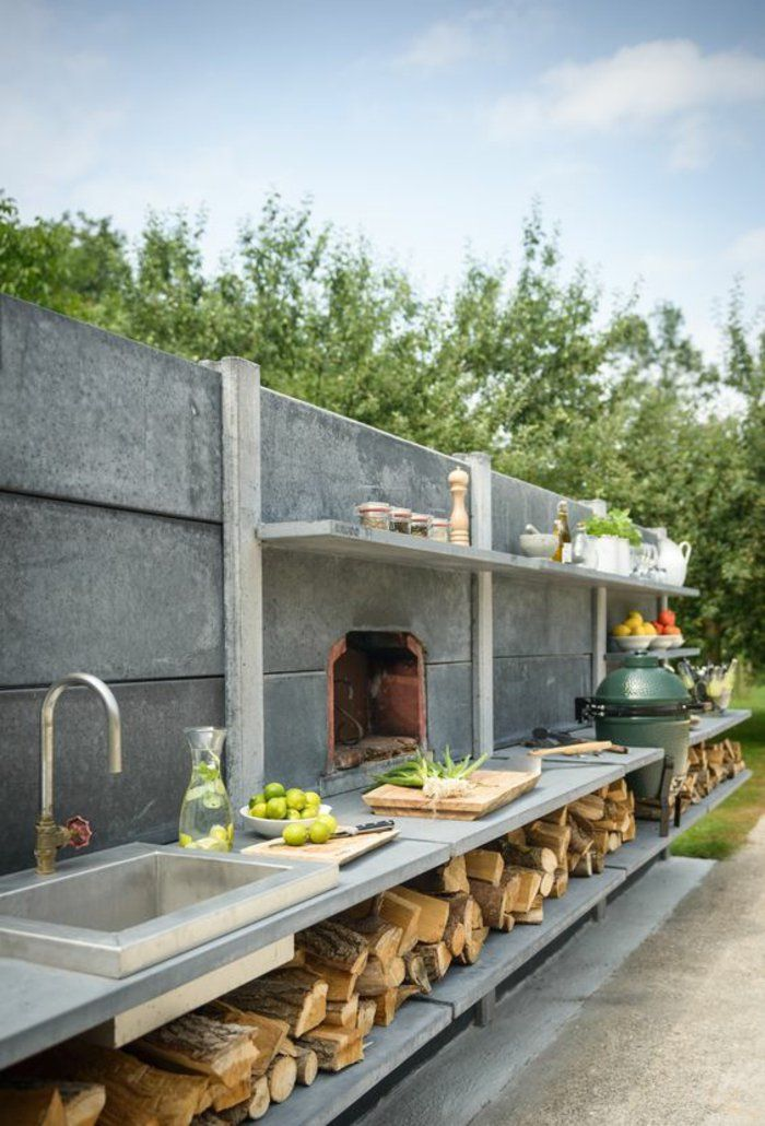 ▷ 1001+idées d\u0027aménagement d\u0027une cuisine d\u0027été extérieure Outdoor